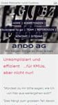 Mobile Preview of andoag.ch
